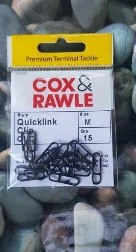 Cox and Rawle Quick Links - size Medium